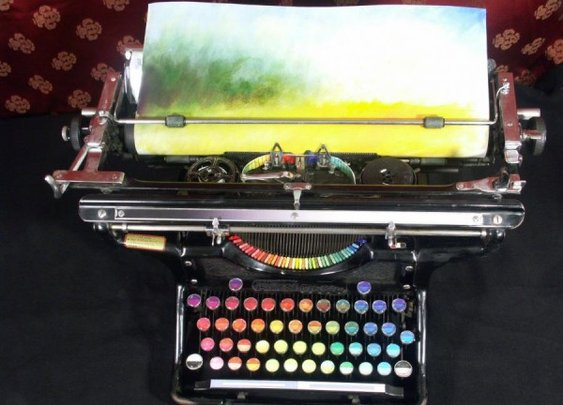 The Chromatic Typewriter