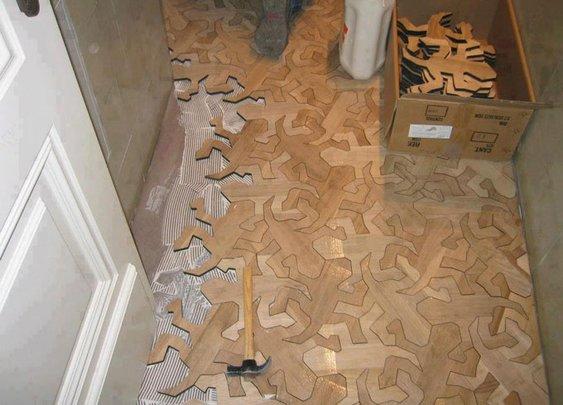 Cool looking flooring