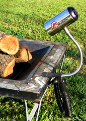 BBQ Dragon | A Portable Heat Cannon for Your Grill