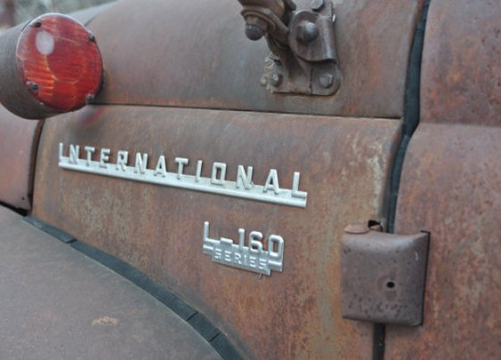 Rusted International Truck  Digital Download by UnisonGeneral