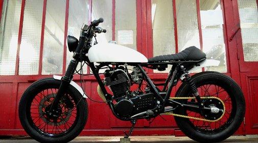 Blitz Motorcycles - Bikes - 500SRTUXEDO