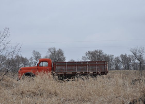 Forgotten Rusted Truck Put Out to Pasture  by UnisonGeneral