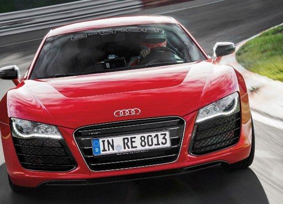 Audi R8 E-tron supercar concept pure electric power in Iron Man 3 Movie | NSTAutomotive