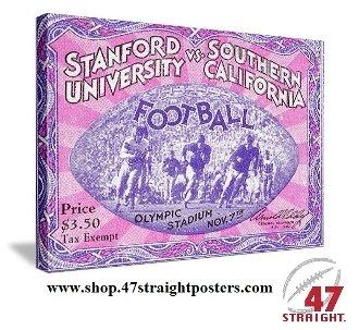 USC Trojans Gifts, College football art, 1931 National Champions USC Trojans.