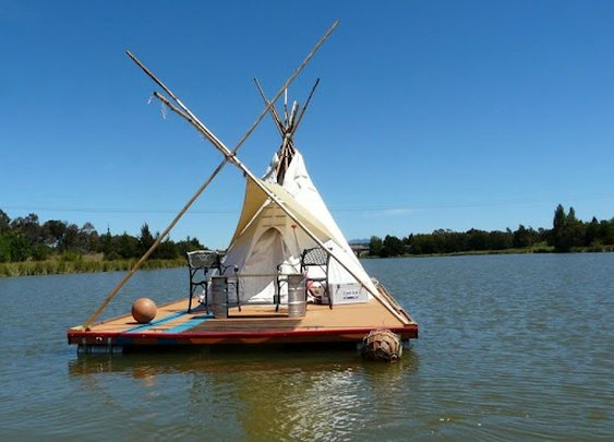 William's Floating Teepee