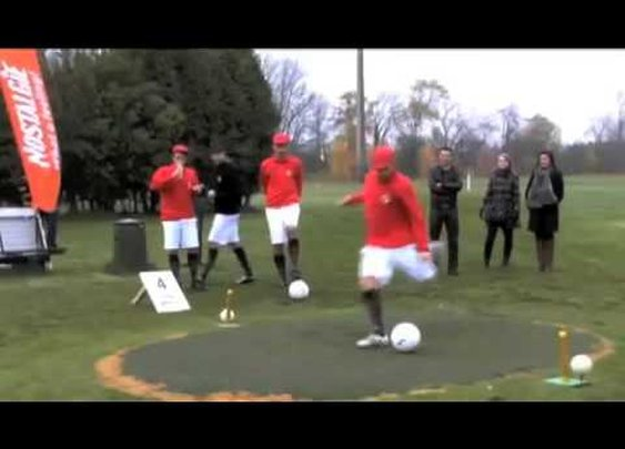"""Out of Ireland: """"footee"""" combines golf and football"""