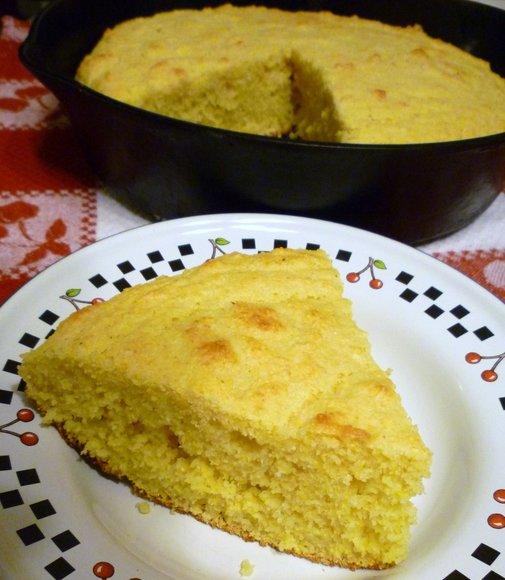 Buttermilk Cornbread in a Cast Iron Skillet | Sweet Simple Stuff