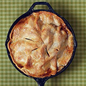 Easy Skillet Apple Pie Recipe | MyRecipes.com