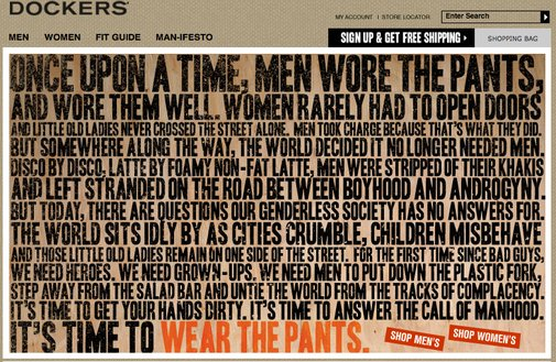 Wear the Pants!