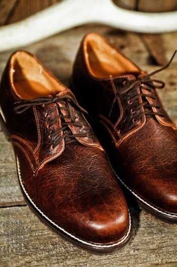 Buffalo Jackson Trading Co. - Bison Oxford Shoes