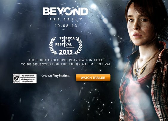 Beyond Two Souls - Breathe Me trailer from the Tribeca Film Festival. | IGN Boards