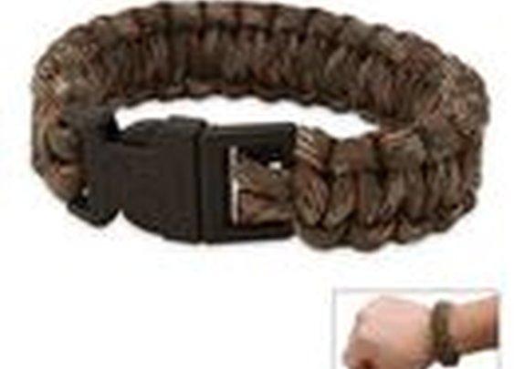 United Cutlery Camo Elite Forces Survival Bracelet