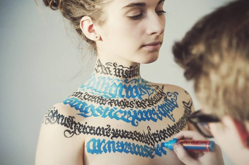 Body (Calligraphy) Art