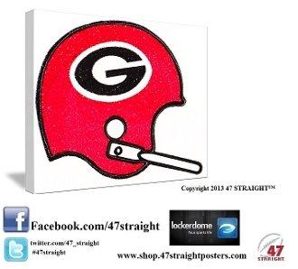 Georgia Bulldogs gifts. Georgia Bulldogs art.