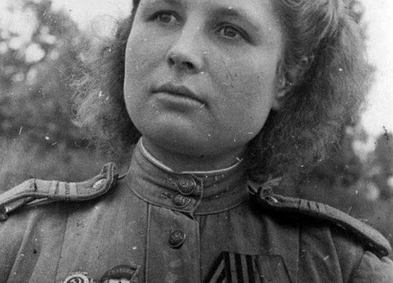 WW2 Soviet Sniper Julia Petrovna.