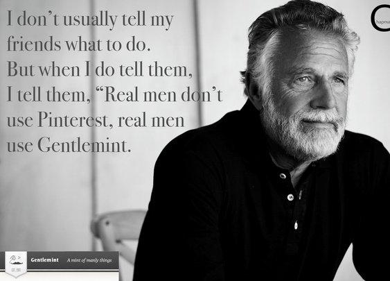 Gentlemint is for real men!