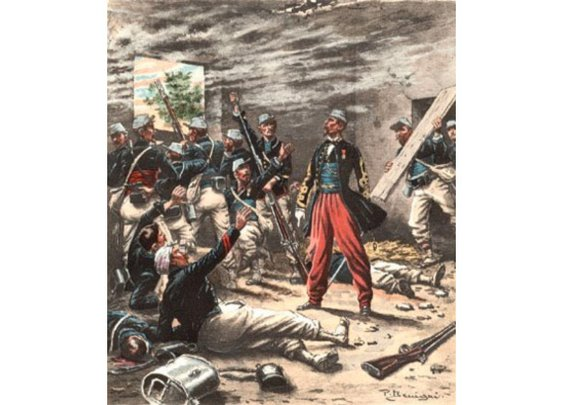 This ain't Hell, but you can see it from here  » Blog Archive   » Sesquicentennial anniversary of the battle of Camarón de Tejeda