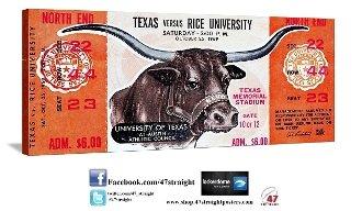 Texas Longhorns Gifts, Texas Longhorns Football Tickets, Texas Longhorns art