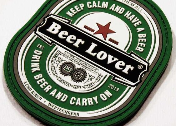 ECHO NiNER Beer Lover Morale Patch | Loaded Pocketz