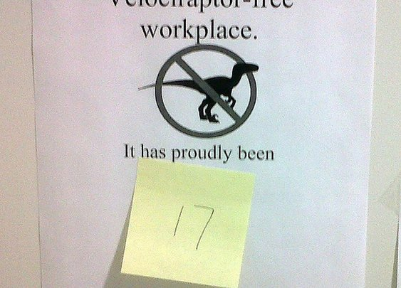 Dinosaurs Should Be Banned from Workplace