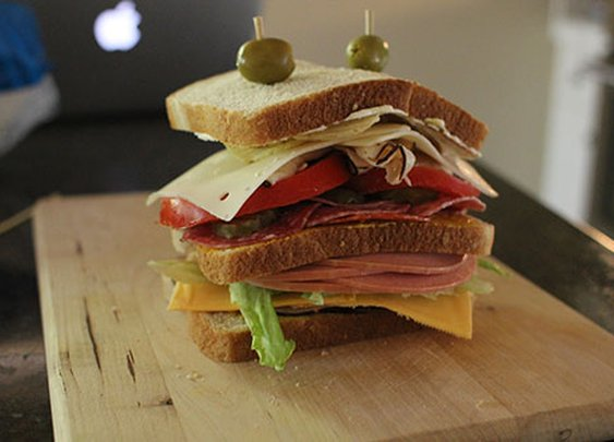 AoM Month of Sandwiches Day #22: The All-American Dagwood | The Art of Manliness
