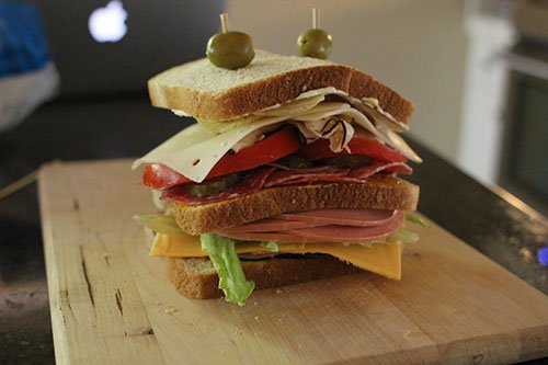 AoM Month of Sandwiches Day #22: The All-American Dagwood   The Art of Manliness