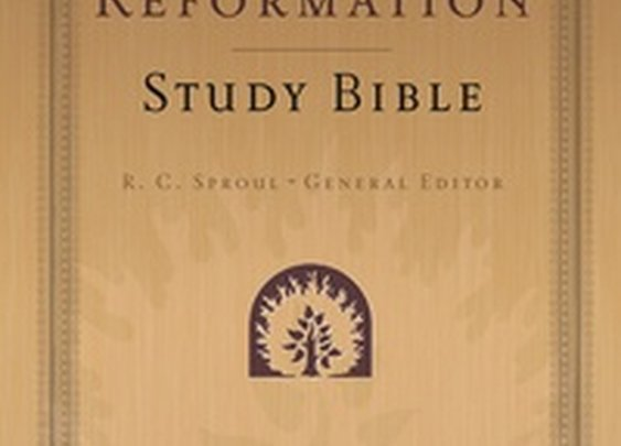 The Reformation Study Bible (ESV): Dr. R.C. Sproul - Bible -Biblical Studies,Bibles | Ligonier Ministries Store