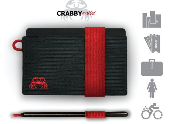 The CRABBY Wallet: A wallet that is not for everyone... by Ryan Crabtree — Kickstarter