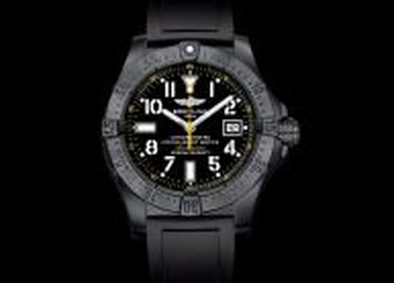 AVENGER SEAWOLF BLACKSTEEL CODE YELLOW - Breitling - Instruments for Professionals