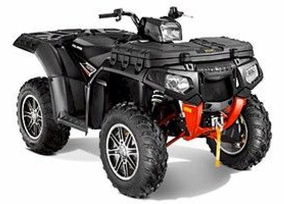 2013 Polaris Sportsman XP 850 HO EPS Stealth Black LE – New 2013 Sportsman XP  850 HO EPS Stealth Black LE at ATV Rider Magazine