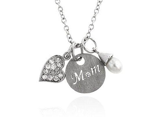 Fashion Jewelry  - LOVE MOM NECKLACE