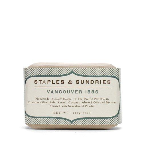 Staples & Sundries Vancouver 1886