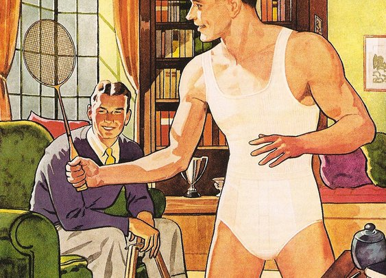 How Boxers and Briefs Got Into Men's Pants