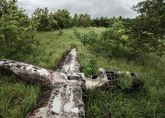 Remains of planes called 'miracles'