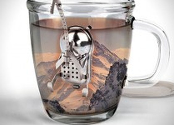 Cliff The Climber Tea Infuser   HiConsumption