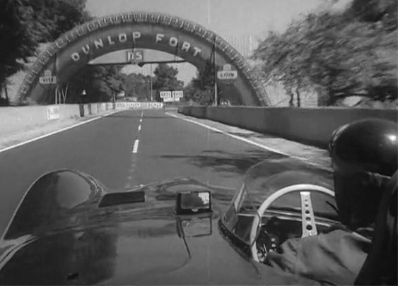 Lapping Le Mans with 1956's version of a dash cam