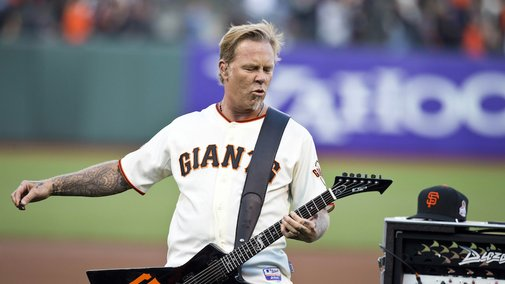 """Metallica Performed """"The Star Spangled Banner"""" At AT&T Park"""
