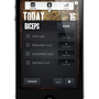 PUMPING WEIGHT - iOS app for tracking workouts