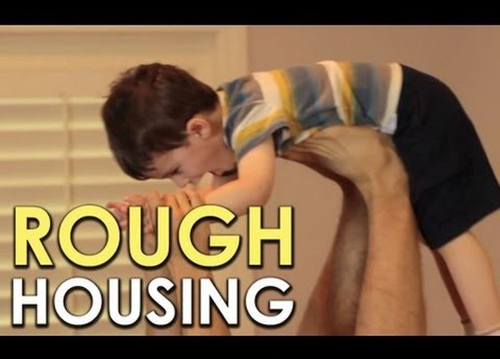 The Importance of Roughhousing | (Video) | Art of Manliness