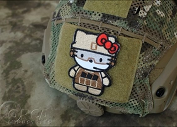 ORCA Tactical. Morale Patch - Kitty Advanced War Kitty Patch