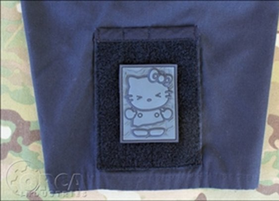 ORCA Tactical. Morale Patch - Kitty in Carbonite - PVC Patch