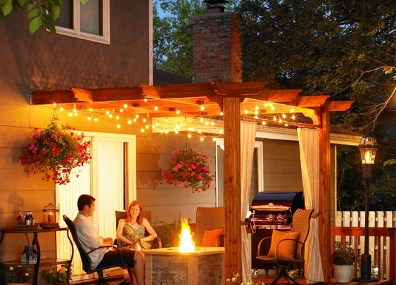 Multifunction Pergola Design for Outdoor Space