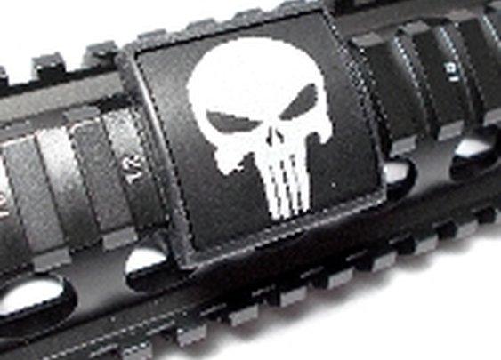 Punisher, Small Laser Engraved Aluminum (LEA)