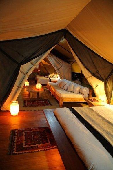 Campground attic