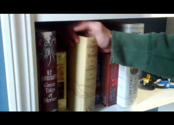 Build Your Own Hidden Lair with this Secret Bookshelf