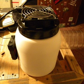 Cold Air Fan from Reused Plastic Bottles