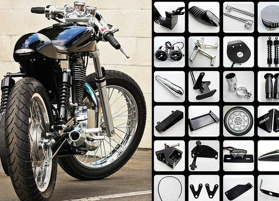 Ryca Motors Motorcycle Kits | Cafe Racer, Bobber, Scrambler Kits for Suzuki S40/Savage & Sportster