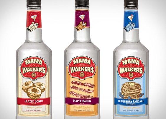 Mama Walker's Breakfast Liqueurs | Uncrate