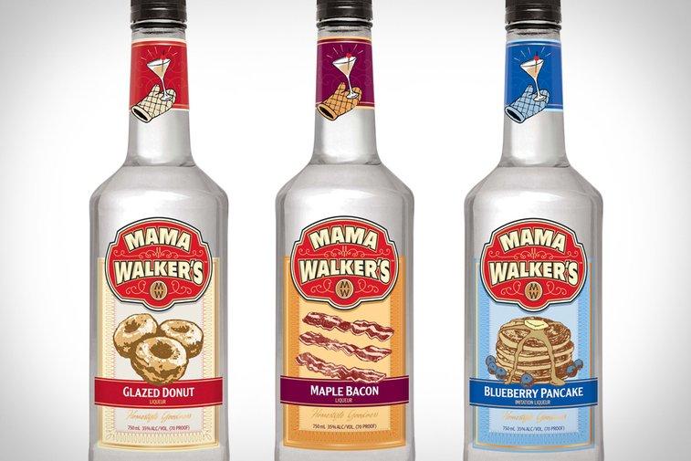 Mama Walker's Breakfast Liqueurs   Uncrate