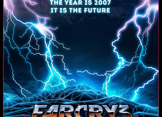 80s-Drenched poster art of Far Cry 3: Blood Dragon | IGN Boards